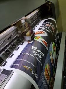 Ưu điểm khi in bạt hiflex quảng cáo