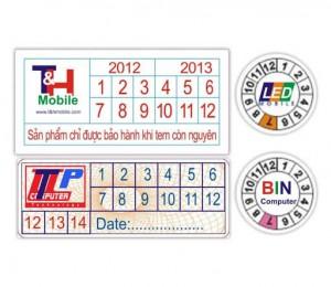 Địa chỉ in tem bảo hành giá rẻ HCM