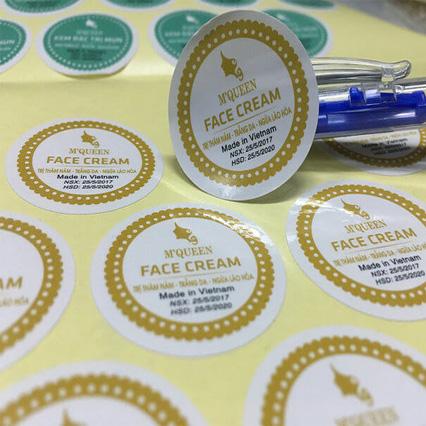 Giấy và công nghệ để in tem nhãn sản phẩm