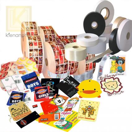 Một số điều cơ bản về in tem nhãn