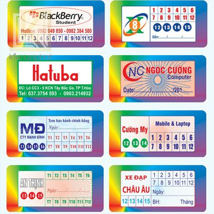 Quy trình đặt hàng để in tem nhãn tại Kiến An Phát