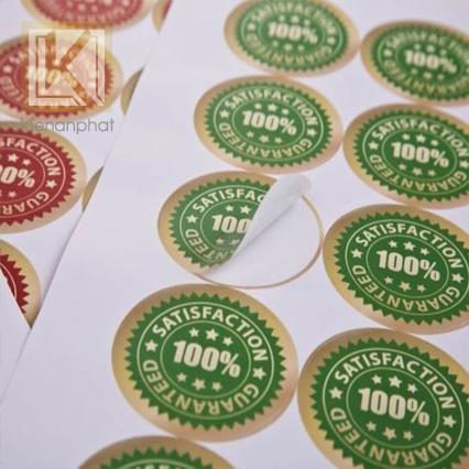 Thiết kế và in tem nhãnnhanh lấy liền trong ngày