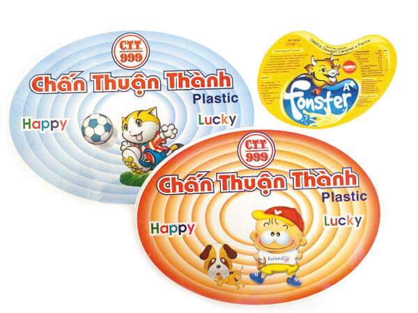 Decal nhựa giá rẻ tại bình thạnh
