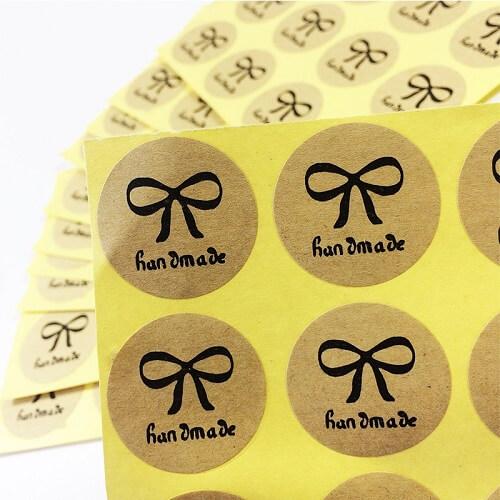 In nhãn decal giấy kraft giá rẻ