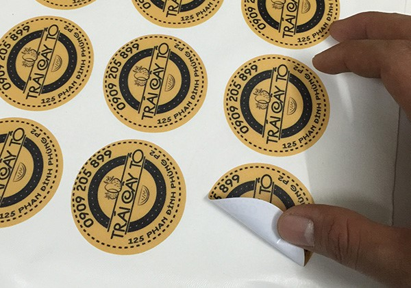 Làm tem dán sản phẩm